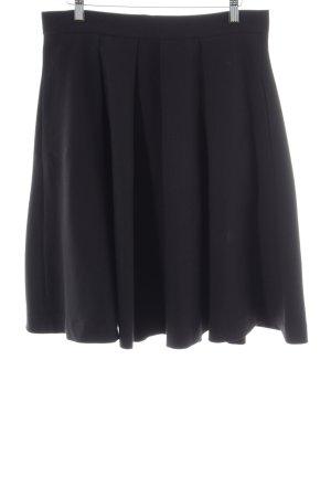 Apart Plaid Skirt black business style