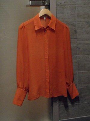 APART Fashion - Chiffon-Bluse, Farbe ZIMT, Gr. 34