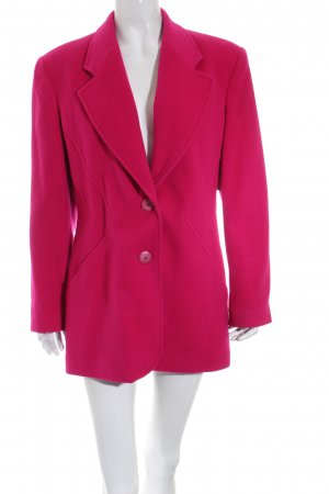 Apart Fashion Manteau court rouge framboise style simple