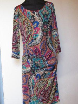 Robe mi-longue multicolore polypropylène