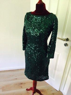 Apart Glamour Abendkleid Cocktailkleid Kleid 34 / S Pailletten Glitzer