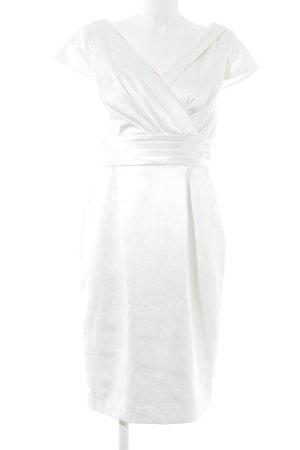Apart  glamour Vestido de noche blanco puro elegante