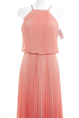 Apart  glamour Chiffon jurk abrikoos elegant