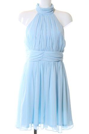 Apart  glamour Abito di chiffon blu elegante