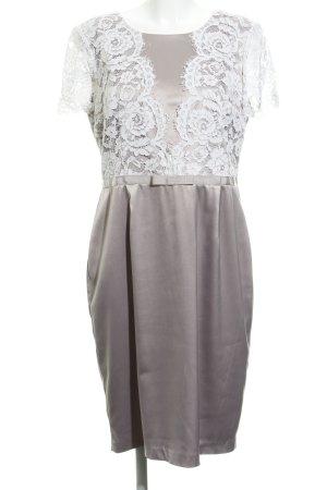 Apart  glamour Etuikleid altrosa-weiß florales Muster Elegant