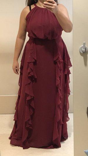 Apart  glamour Vestido de noche burdeos