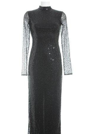 Apart  glamour Vestido de manga larga negro estilo extravagante