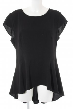 Apart  glamour Long Shirt black casual look