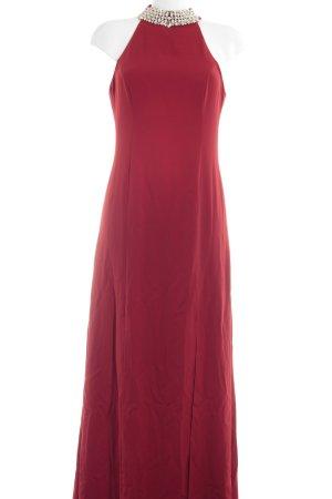 Apart  glamour Vestido largo rojo elegante