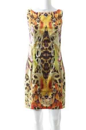 Apart  glamour Mini vestido estampado con diseño abstracto elegante