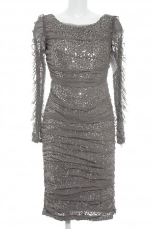 Apart  glamour Pailettenkleid grau Party-Look