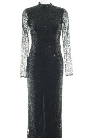 Apart  glamour Abito con paillettes nero elegante