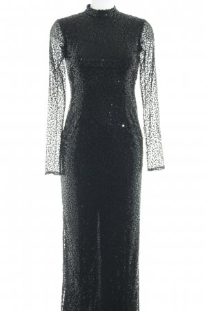Apart  glamour Vestido de lentejuelas negro elegante