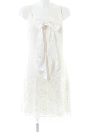 Apart  glamour Abito scamiciato bianco stile casual