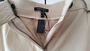 Apart Fashion Stretch broek zandig bruin