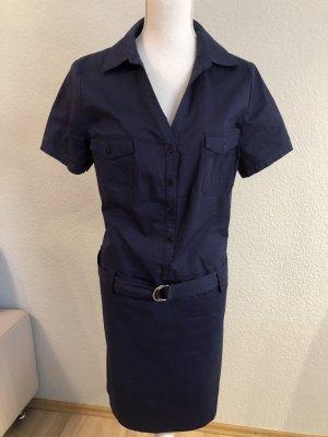 Apart Shirtwaist dress dark blue