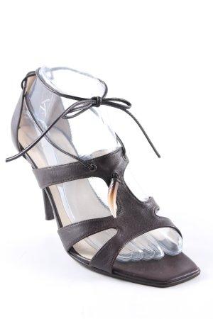 Apart High Heel Sandaletten dunkelbraun Elegant