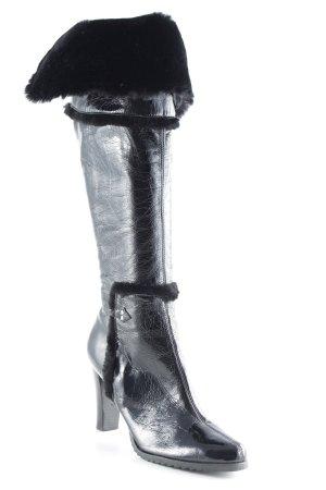 Apart High Heel Stiefel schwarz Elegant