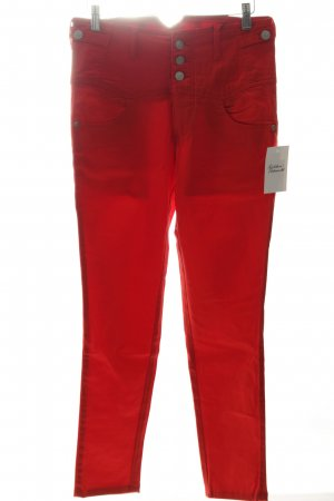 Apart High-Waist Hose rot Casual-Look