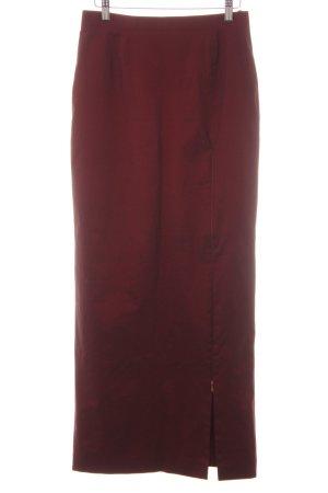 Apart High Waist Skirt bordeaux-carmine medieval style