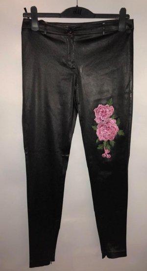Apart Hose in gr 38 Farbe Schwarz Rose 3D
