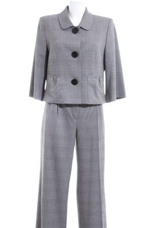 Apart Tailleur pantalone grigio chiaro motivo a quadri stile professionale