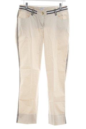 Apart Pantalon taille basse crème style simple