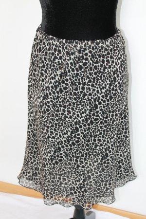 Apart Flared Skirt multicolored viscose