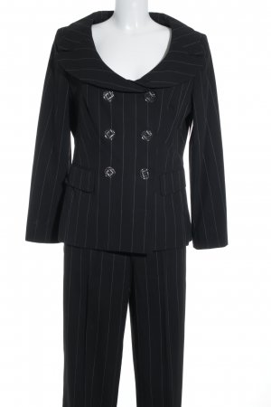 Apart Impressions Suit Trouser black-white pinstripe business style