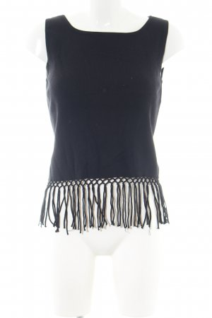 Apart Impressions Cropped Top schwarz Casual-Look