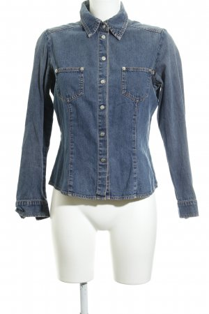 Apart Impressions Denim Blouse slate-gray casual look