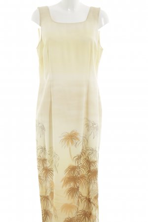 Apart Impressions Maxi Dress cream abstract pattern casual look