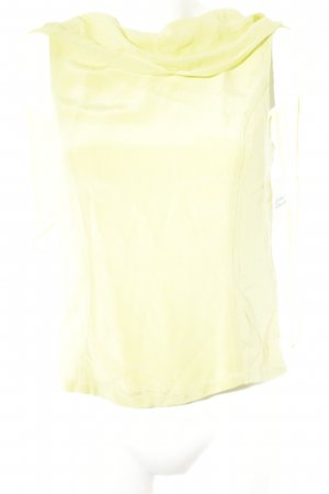 Apart Impressions Silk Blouse lime yellow business style