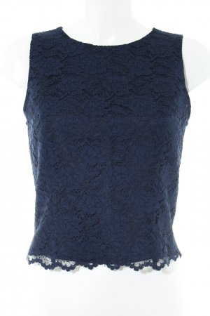Apart Impressions Lace Top dark blue flower pattern casual look