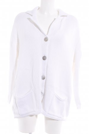 Apart Impressions Knitted Cardigan white casual look