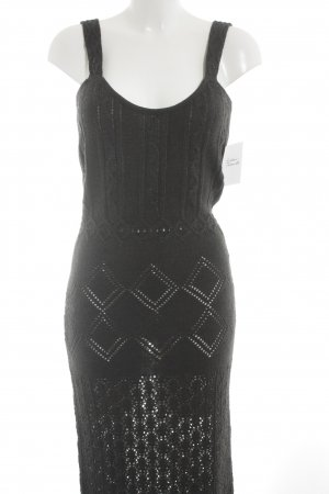 Apart Impressions Knitted Dress anthracite casual look