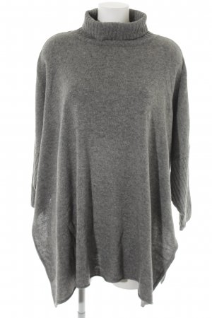 Apart Impressions Knitted Sweater grey flecked casual look