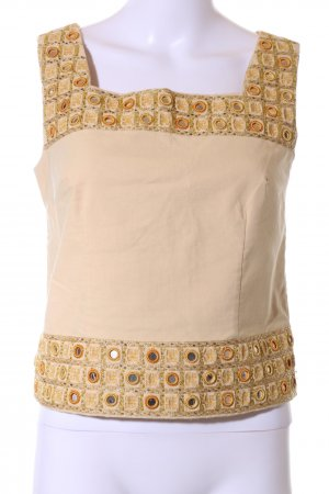 Apart Impressions Strappy Top natural white-nude graphic pattern casual look