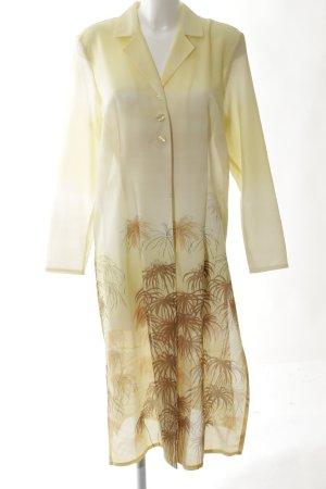Apart Impressions Between-Seasons-Coat cream-primrose flower pattern casual look
