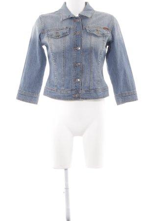 Apart Spijkerjack korenblauw Jeans-look