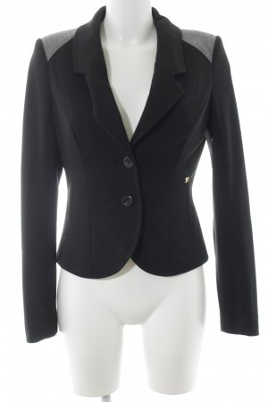 Apart Jerseyblazer schwarz Business-Look
