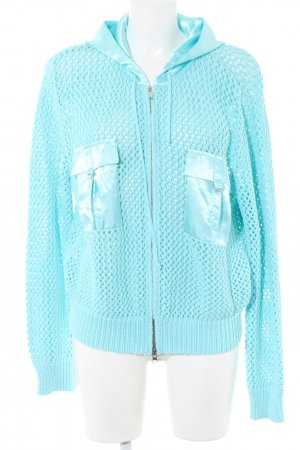 Apart Hooded Sweatshirt turquoise casual look