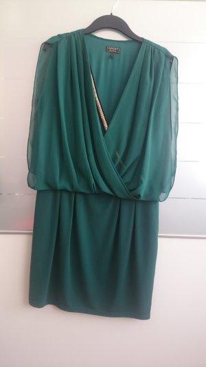 Apart Kleid Abendkleid dunkel grün