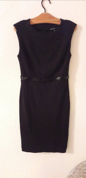 Apart Kleid Etuikleid Lack Gürtel Bodycon Minikleid Business