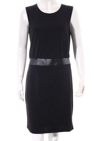 Apart Kleid schwarz Metallknöpfe