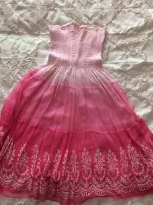 APART Kleid Sommer Trägerlos
