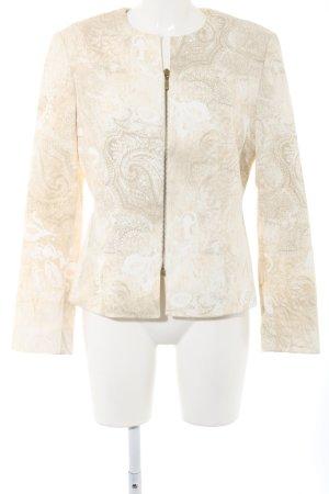 Apart Blazer corto crema-bianco sporco modello misto stile professionale
