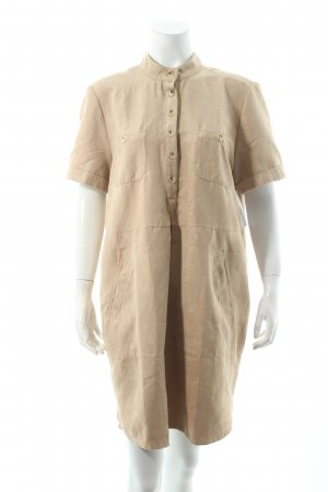 Apart Kurzarmkleid beige Nude-Look