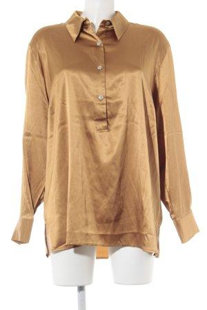 Apart Langarm-Bluse bronzefarben Elegant