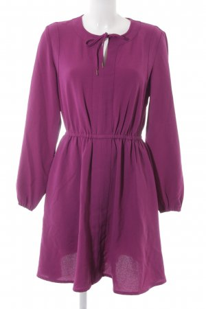 Apart Langarmkleid violett Casual-Look